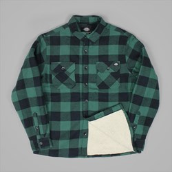 DICKIES LANSDALE OVERSHIRT PINE GREEN
