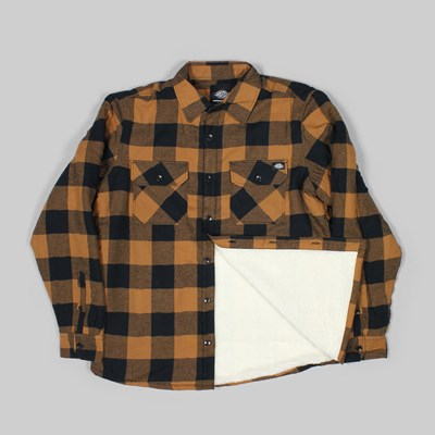 DICKIES LANSDALE SHIRT BROWN DUCK