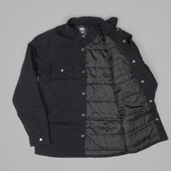 DICKIES LATIMORE LS OVER SHIRT BLACK