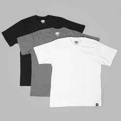 DICKIES 3 PACK MULTI-COLOR T SHIRTS