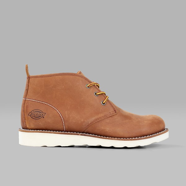 DICKIES NEBRASKA CHUKKA BOOT BROWN