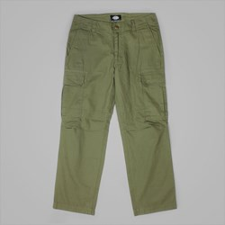 DICKIES NEW YORK CARGO PANTS DARK OLIVE
