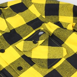 DICKIES SACRAMENTO LS SHIRT YELLOW BLACK