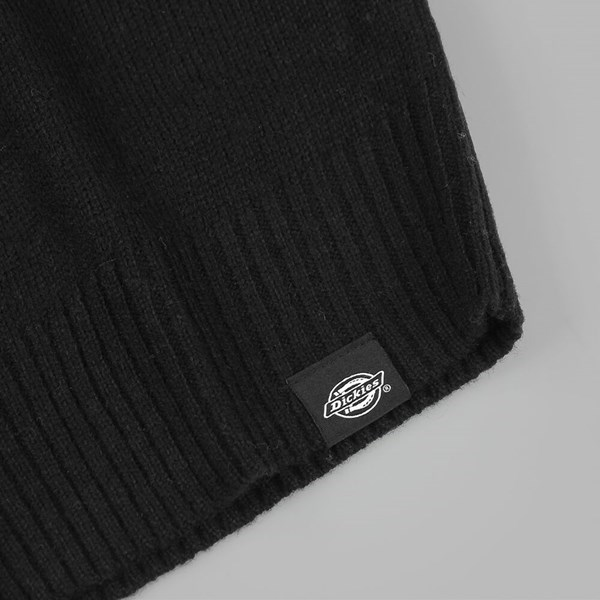 DICKIES SHAFTSBURG CREWNECK JUMPER BLACK