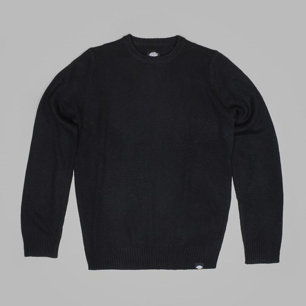 DICKIES SHAFTSBURG CREW NECK JUMPER BLACK
