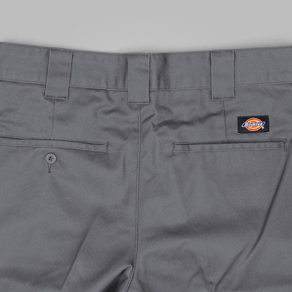 DICKIES SLIM FIT WORK PANT CHARCOAL