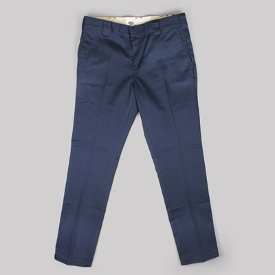 DICKIES SLIM 872 FIT WORK PANT NAVY BLUE