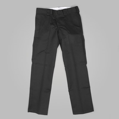 DICKIES SLIM STRAIGHT WORK PANT BLACK