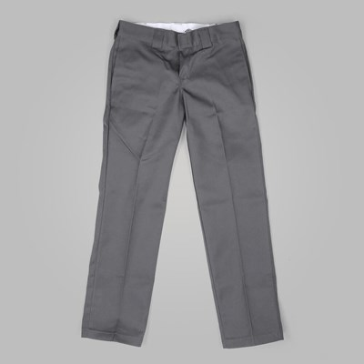 DICKIES SLIM STRAIGHT WORK PANT CHARCOAL