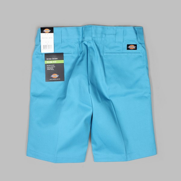 DICKIES SLIM STRAIGHT WORK SHORT BLUE SKY