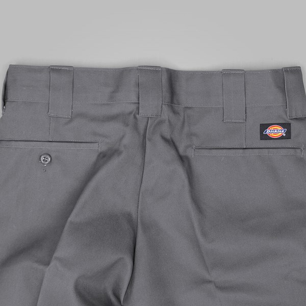 DICKIES SLIM STRAIGHT WORK SHORT CHARCOAL