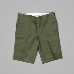 DICKIES SLIM STRAIGHT WORK SHORT OLIVE GREEN