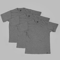 DICKIES 3-PACK T SHIRTS DARK GREY