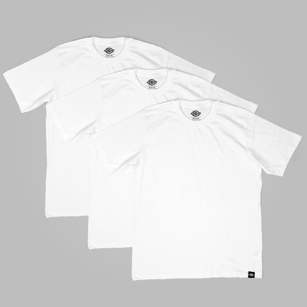 DICKIES 3-PACK T SHIRTS WHITE