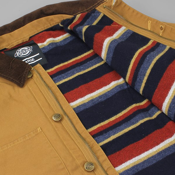 DICKIES THORNTON JACKET BROWN DUCK