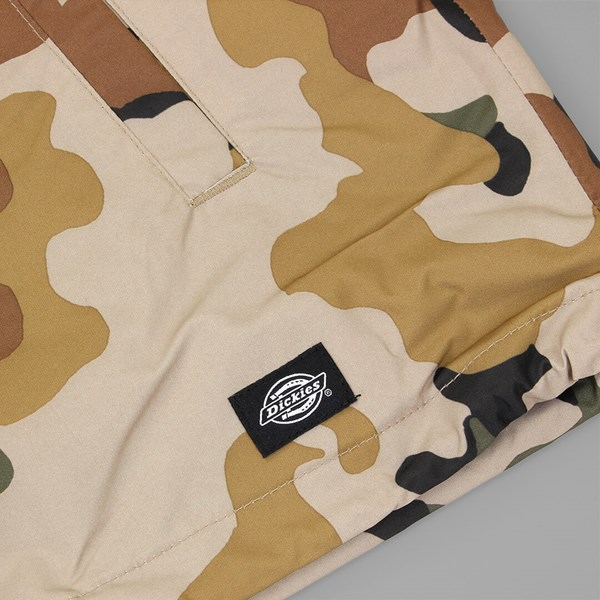 53c006f3 DICKIES TORRANCE COACH JACKET SAND CAMO | Dickies Jackets