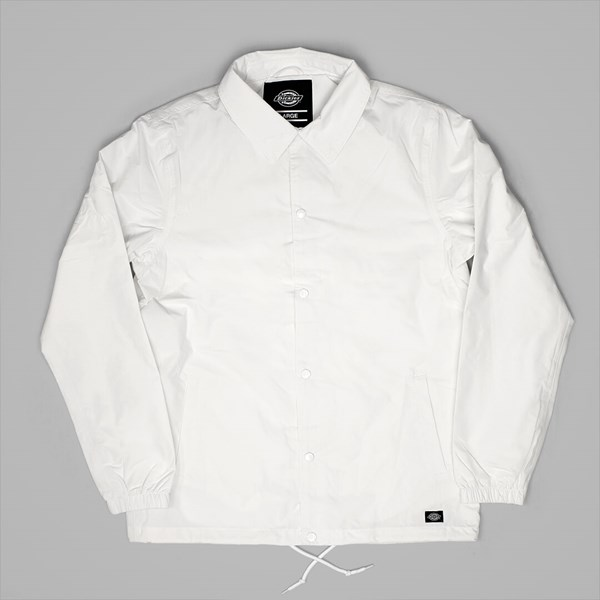 DICKIES TORRANCE COACH JACKET WHITE