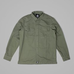 DICKIES TUNNELTON LS SHIRT DARK OLIVE