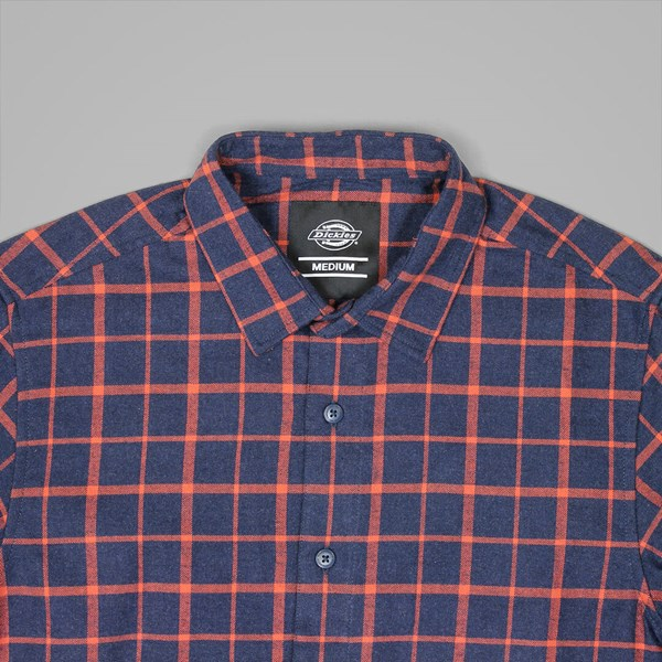 DICKIES WEST VIEW LS SHIRT BLUE