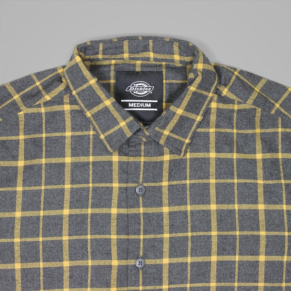 DICKIES WEST VIEW LS SHIRT DARK GREY