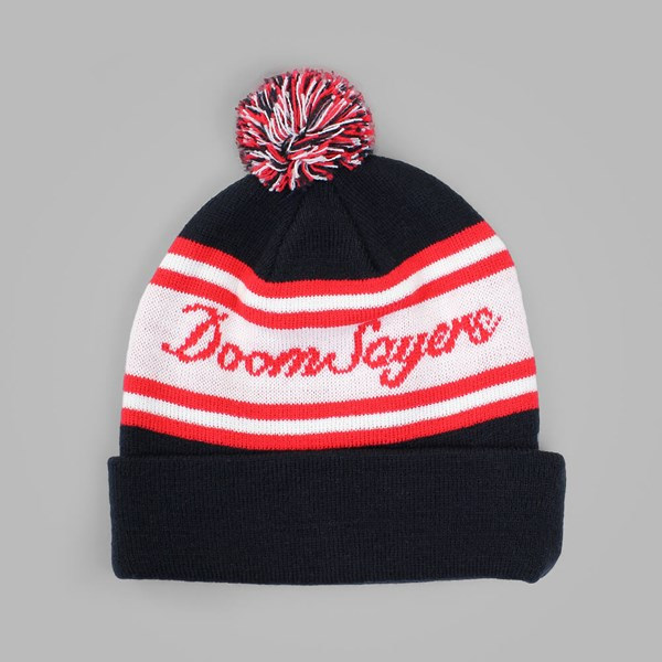 DOOM SAYERS DOOMWEISER POM BEANIE RED