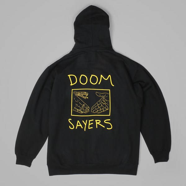 DOOM SAYERS SNAKE SHAKE HOOD BLACK