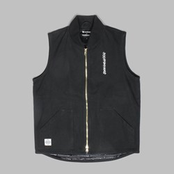 DOOM SAYERS X KNOWLEDGE OS VEST BLACK