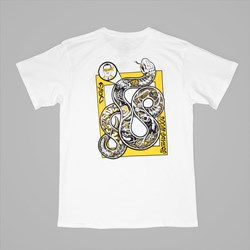 DOOMSAYERS SNAKE ANATOMY TEE WHITE