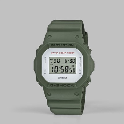 G SHOCK WATCH DW-5600M-3ER ARMY GREEN