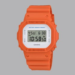 G SHOCK WATCH DW-5600M-4ER ORANGE WHITE