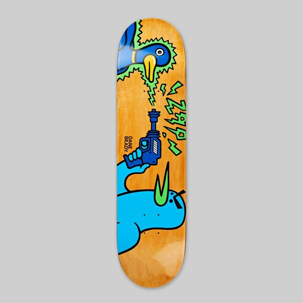 POLAR SKATE CO. DANE BRADY 'KVAAK ZAP' DECK 8.5""