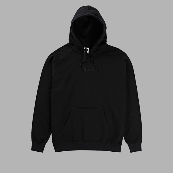 POLAR SKATE CO. DEFAULT PO HOODIE BLACK