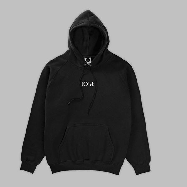 POLAR SKATE CO. DEFAULT PO HOOD BLACK