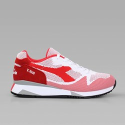 Diadora V7000 Weave Tomato Red White