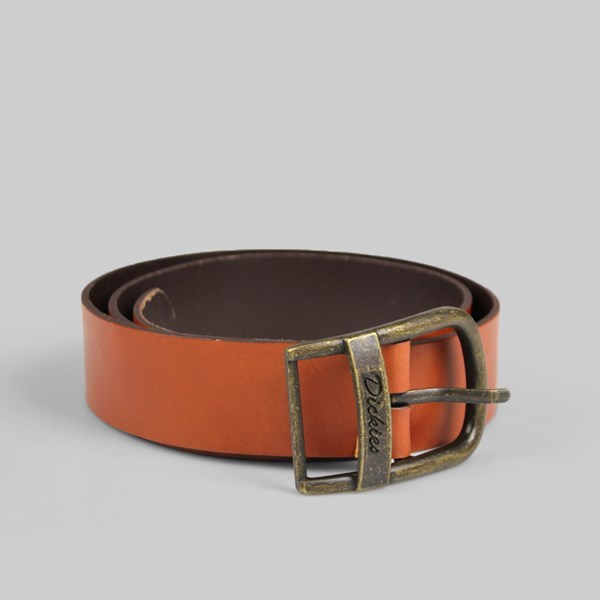 Dickies Deerfield Leather Belt Tan