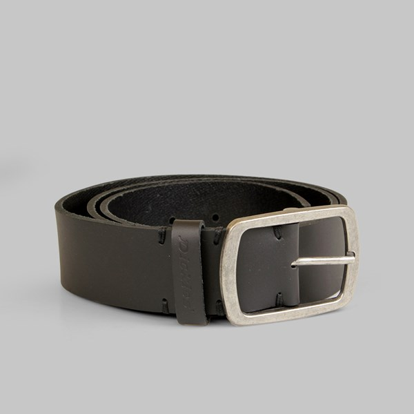 Dickies Eagle Lake Leather Belt Black