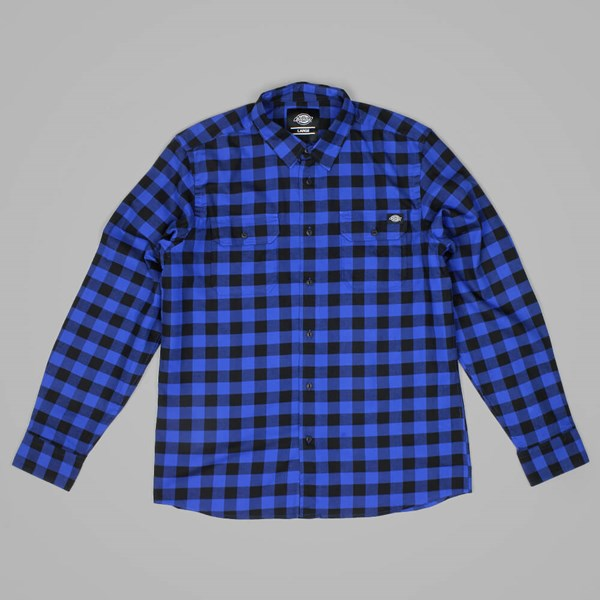 Dickies Jacksonville Shirt Royal Blue