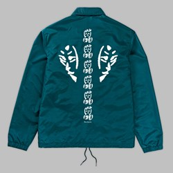 POLAR SKATE CO. DOODLE JACKET KEVIN DARK TEAL