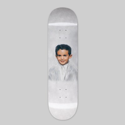 "FUCKING AWESOME DYLAN FOREVER DIPPED DECK 8.25"" WHITE"