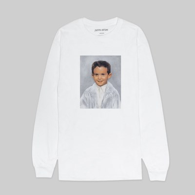 FUCKING AWESOME DYLAN FOREVER LS TEE WHITE