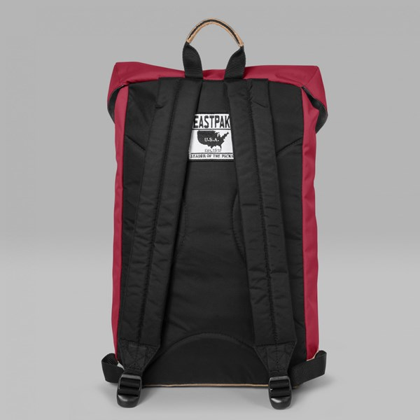 EASTPAK ROWLO BACKPACK INTO THE RED