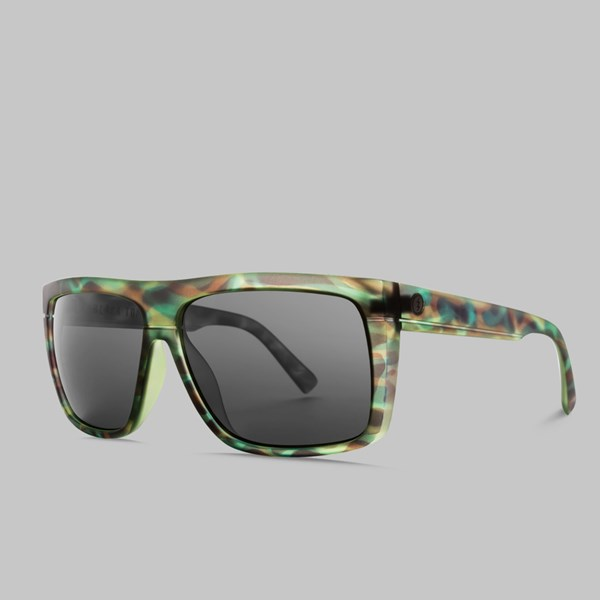 ELECTRIC BLACK TOP SUNGLASSES MASON TIGER M GREY