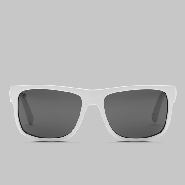 ELECTRIC SWINGARM SUNGLASSESS ALPINE WHITE M GREY