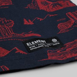Element Footpath T Shirt Total Eclipse