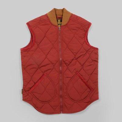 Element Gibbs Quilted Vest Russet