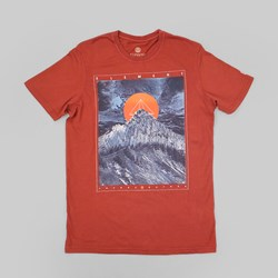 Element Hedron T Shirt Russet