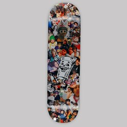FUCKING AWESOME KEVIN BRADLY 'PARTY' DECK 8.25""