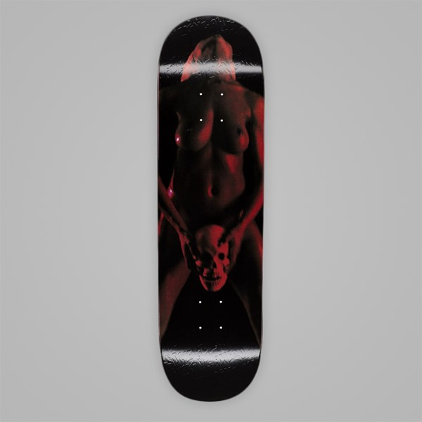 FUCKING AWESOME RED SKULL WOMAN DECK 8.38""