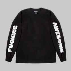 FUCKING AWESOME TEETH LONG SLEEVE TEE BLACK