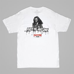 FUCKING AWESOME X THRASHER 'THRASH ME' TEE WHITE